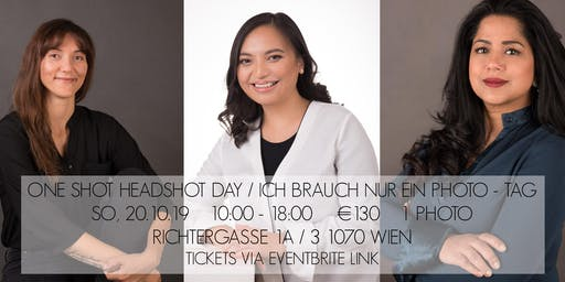 The One Shot Headshot Day / Ich brauch nur ein Foto - Tag