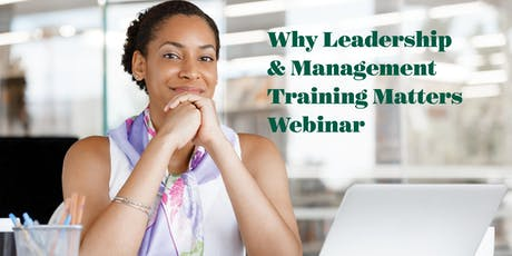 Why Leadership & Management Training Matters tickets