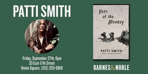 Patti Smith at Barnes & Noble Union Square