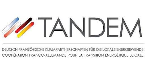TANDEM Webinar/Webinaire - 16/09/2019