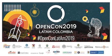 OpenCon LatAm Colombia 2019 entradas
