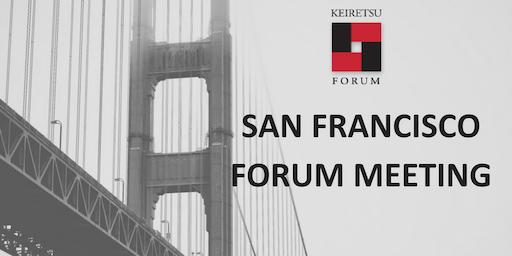 September 25, 2019 Keiretsu Forum San Francisco
