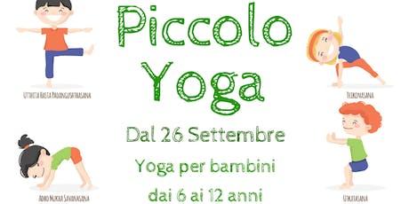 Yoga per Bambini - Lez.prova GRATUITA tickets