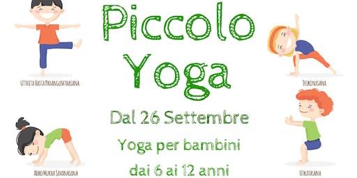 Yoga per Bambini - Lez.prova GRATUITA