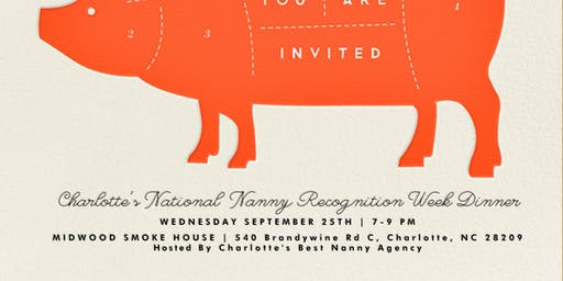 National Nanny Recognition Week Dinner