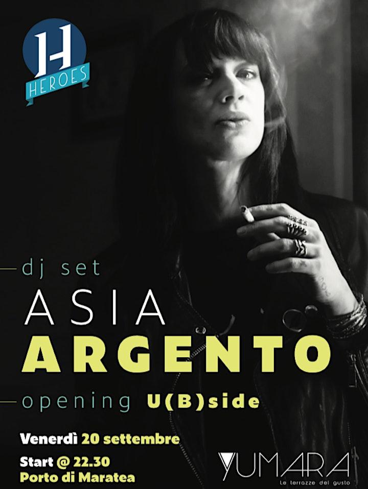 Immagine Asia Argento DJ Set - Porto di Maratea (PZ)