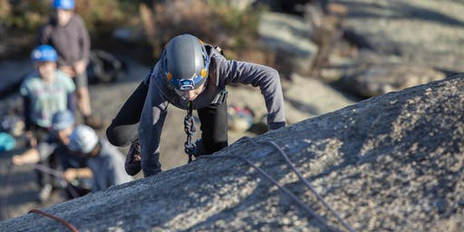 Youth climbing day at Mt Macedon, 3rd November 2019