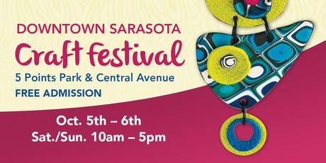 25th Annual Downtown Sarasota Craft Festival tickets