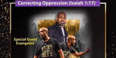 SOCIAL JUSTICE REVIVAL: CORRECTING OPPRESSION
