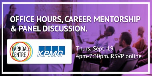 KPMG Digital Career Panel & Networking Event