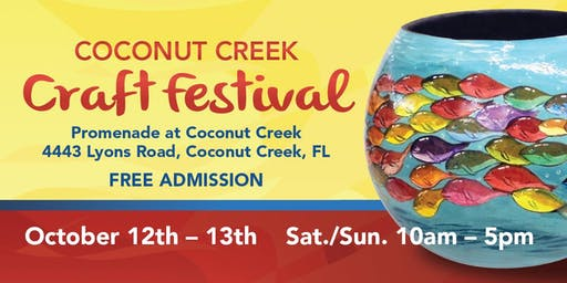 2nd Annual Coconut Creek Craft Festival
