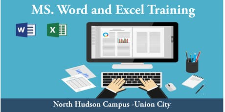 Introduction to Word and Excel - Union City (North Hudson Campus) tickets
