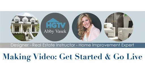 Making Video: Get Started & Go Live – Austin - 10/24/2019