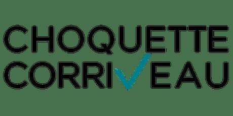 Choquette Corriveau visite cabinet 2019 #2 billets