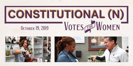 Constitutional(n): Votes for Women tickets
