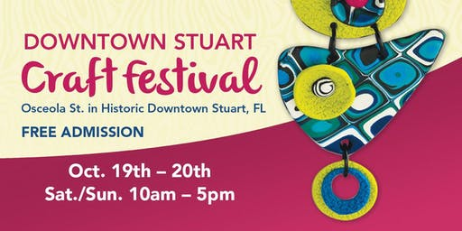 20th Annual Downtown Stuart Craft Festival