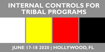 Internal Controls for Tribal Programs Training June 17-18, 2020