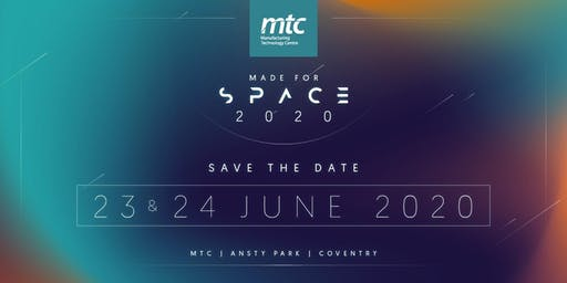 Made for Space - Save The Date