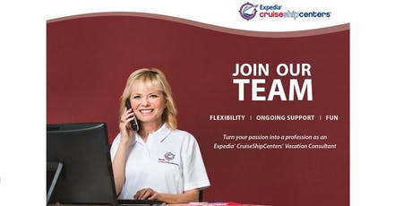 Join Our Team at Expedia CruiseShipCenters tickets