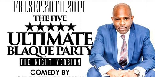 """THE ALL BLACK AFFAIR """" COMEDY  EXPLOSION """" @ STAGE FORTY8"""