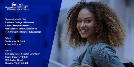 Georgia State University: Robinson College of Business Alumni Reception at the National Black MBA Association 41st Annual Conference & Expositiontickets