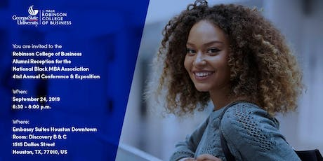 Georgia State University: Robinson College of Business Alumni Reception at the National Black MBA Association 41st Annual Conference & Exposition	tickets