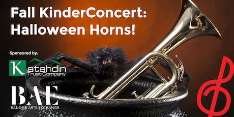 Fall KinderConcert: Halloween Horns!  tickets