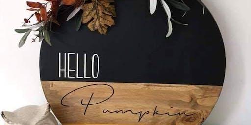 Hello Pumpkin Workshop