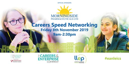 Leicestershire's Largest Careers Speed Networking Event 2019