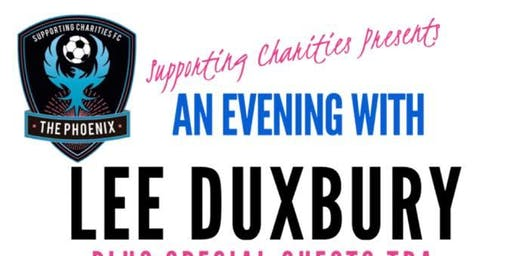 An Evening with Ex Bradford City & Oldham Captain Lee Duxbury & Guests