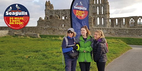 Follow the Seagulls Charity Trek - Whitby, Yorkshire 2020 tickets