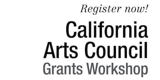 2019 California Arts Council Grants Workshop: Fresno