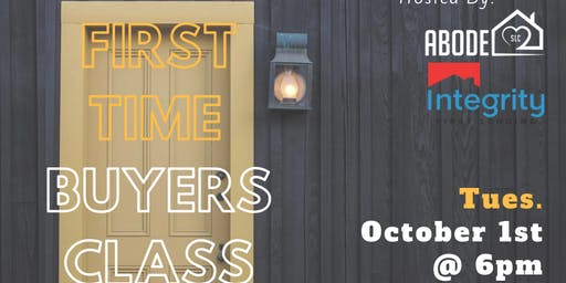 First Time Home Buyers Education Class