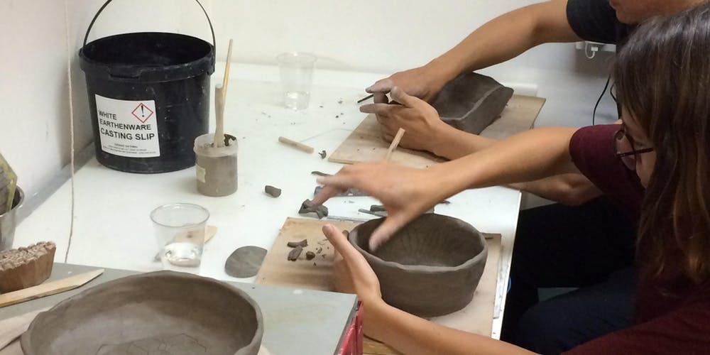 Handbuilding Pottery - 5 week course