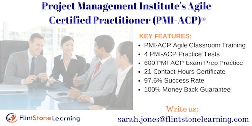 PMI-ACP Certification Training Course in Des Moines, IA