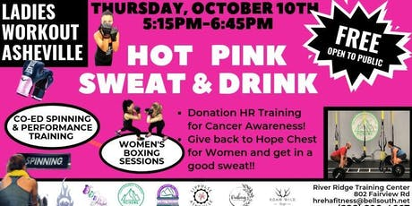 LWA Hot Pink Sweat and Drink tickets