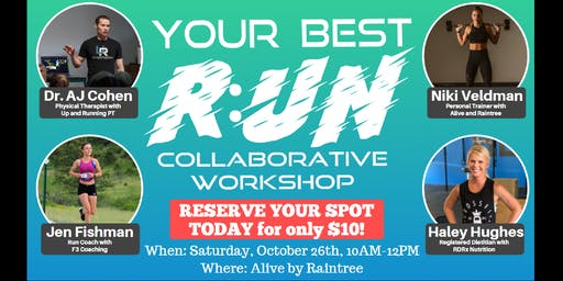Your Best R:UN - Collaborative Workshop