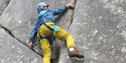 Family climbing day at Mt Macedon, 9th November 2019