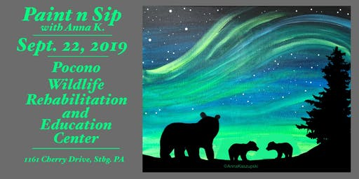 Paint n Sip- Mama & Her Cubs