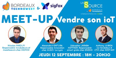 "Meet-up ""Vendre son ioT"" par Sigfox"