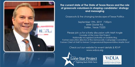 Grassroots and the Changing Landscape of Texas Politics tickets