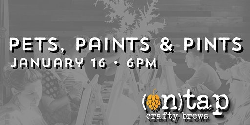 Pets, Paints & Pints at On Tap Mooresville