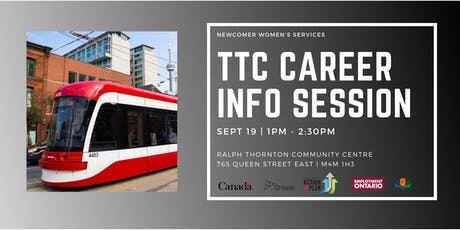 TTC Career Information Session - Sept 19  tickets