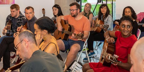 Improvisation music workshop with The Guitar Social during UNITY Arts Festival tickets