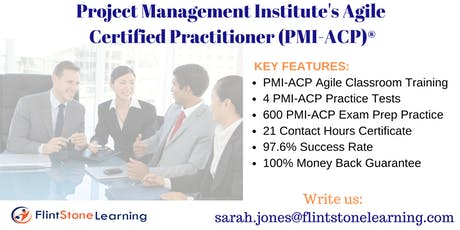 PMI-ACP Certification Training Course in Greensboro, NC tickets