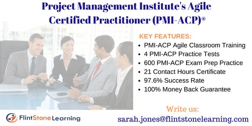 PMI-ACP Certification Training Course in Lebanon, NH
