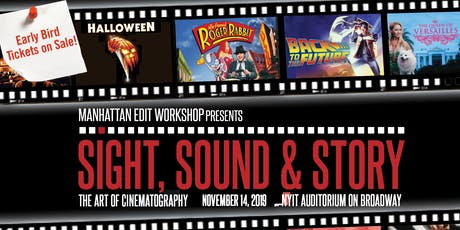Sight, Sound & Story: The Art of Cinematography 2019 tickets