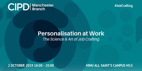 Personalisation at Work | The Science and Art of Job-Crafting tickets