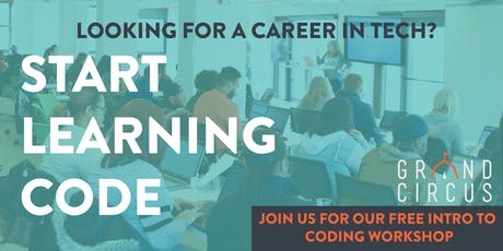 FREE Intro to Coding Workshop in Detroit  tickets
