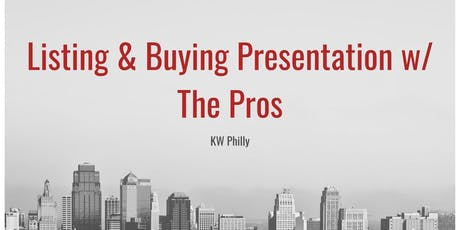 Live Buyer & Listing Presentation tickets